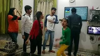 Bihadi anpadh hali te tang rahu jan jali te. Full song dance with funny style