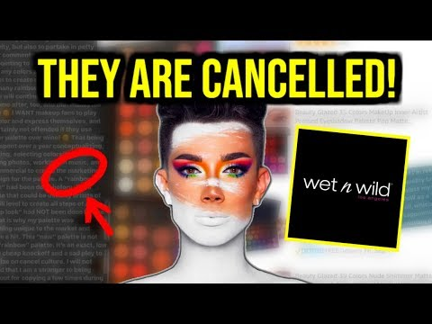 JAMES CHARLES CANCELS WET N WILD ONCE & FOR ALL! thumbnail