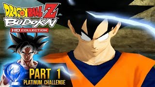 Dragon Ball Z: Platinum Challege - Budokai HD Collection Part 1 (DBZ Budokai HD Gameplay)