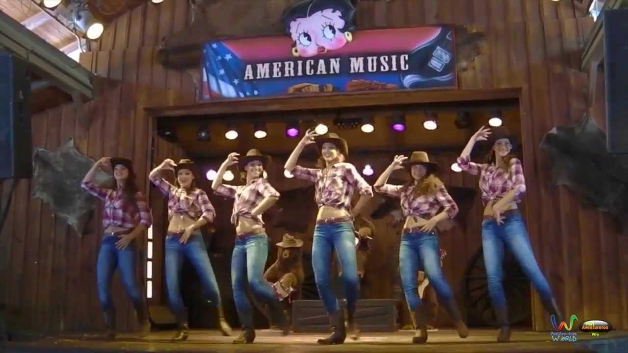 country western dance 2015 animaci n de calle portaventura 20 aniversario youtube. Black Bedroom Furniture Sets. Home Design Ideas