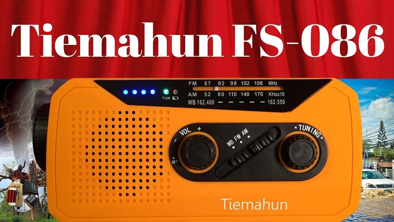 Tiemahun FS-086 Portable Emergency Radio | Full Review