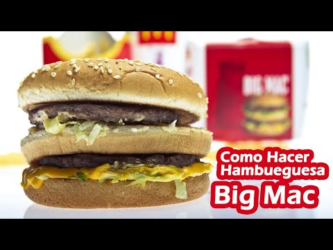 Como Hacer la Hamburguesa Big Mac de McDonalds