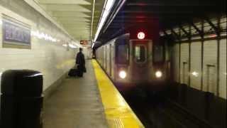 IRT Eastern Parkway Line: R142 2 Train at Bergen St (Flatbush Ave Bound)