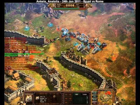 Ministry Of War Fury Server, Ankela battle - 24th Jan 2011 - Egypt vs Rome
