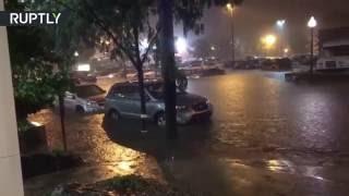 Flash floods ravage Kansas City