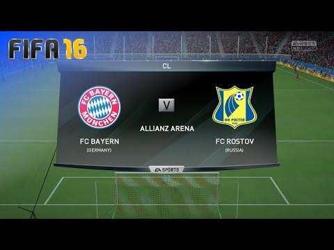 FIFA 16 - FC Bayern München vs. FC Rostov @ Allianz Arena (Season '16/'17)