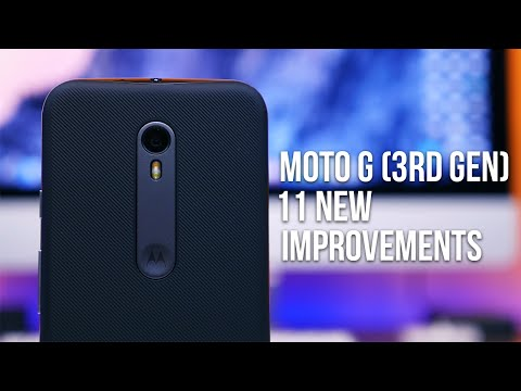 Moto G (3rd Gen): 11 New Improvements