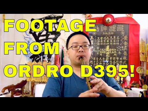 MUST HAVE - ORDRO D395 DV Camera Review and Testing Footage