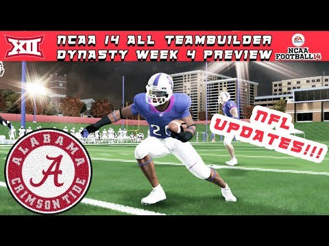 what's-all-the-buzz-about?!?---ncaa-football-14-|-big-12-all-teambuilder-dynasty-|-week-4-preview