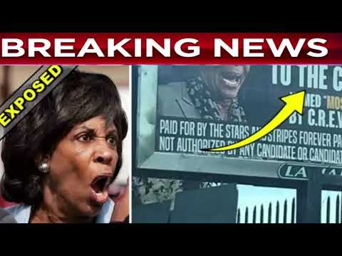 BREAKING: Billboard Pops Up On Busy California Highway Overnight, 4 Words Make Maxine Waters PANIC