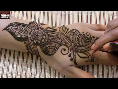 Simple Arabian Mehndi Design For Hands   2017 Festival Mehendi Design For Women    MehndiArtistica
