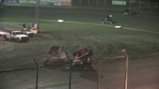 Sprint Car feature from Kennedale Speedway Park