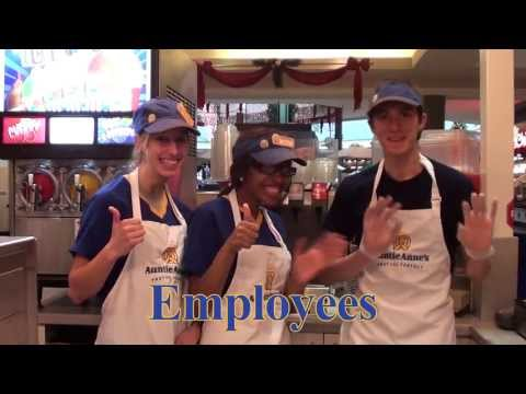 The ABC's of Auntie Anne's