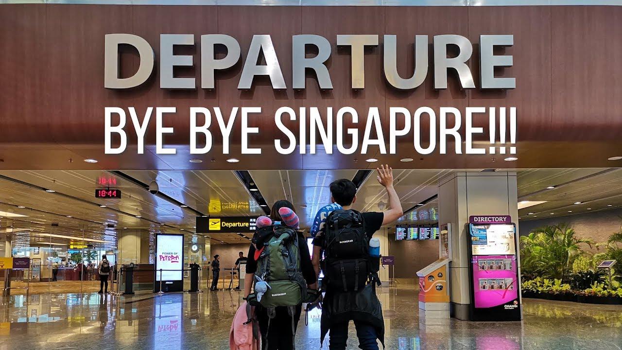 BYE BYE SINGAPORE!!!   End of singapore bali trip   Roaming routes