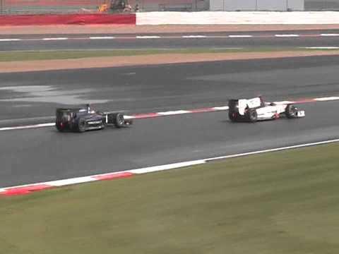 2011 British Grand Prix (Video Camera) GP2 Race 1
