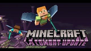 Minecraft - End Şehrine Ve Ende Nasıl Gidilir? Combat Update