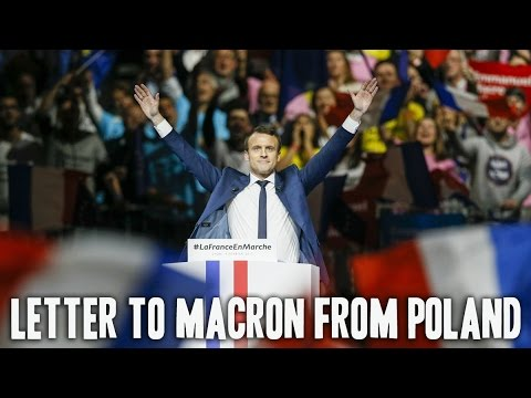 Letter to Macron from Polish democrats
