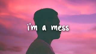 bebe rexha - i'm a mess // lyrics thumbnail