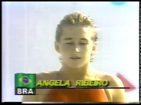 Olympics - 1984 Los Angeles - Diving - Womens Platform - Dive 6  imasportsphile