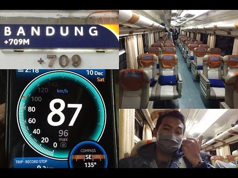 Trip by Train - Pulang Kampung Naik Kereta Api Lodaya Malam