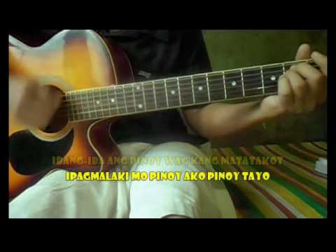 Orange and Lemons   Pinoy ako Guitar Chords and Lyrics