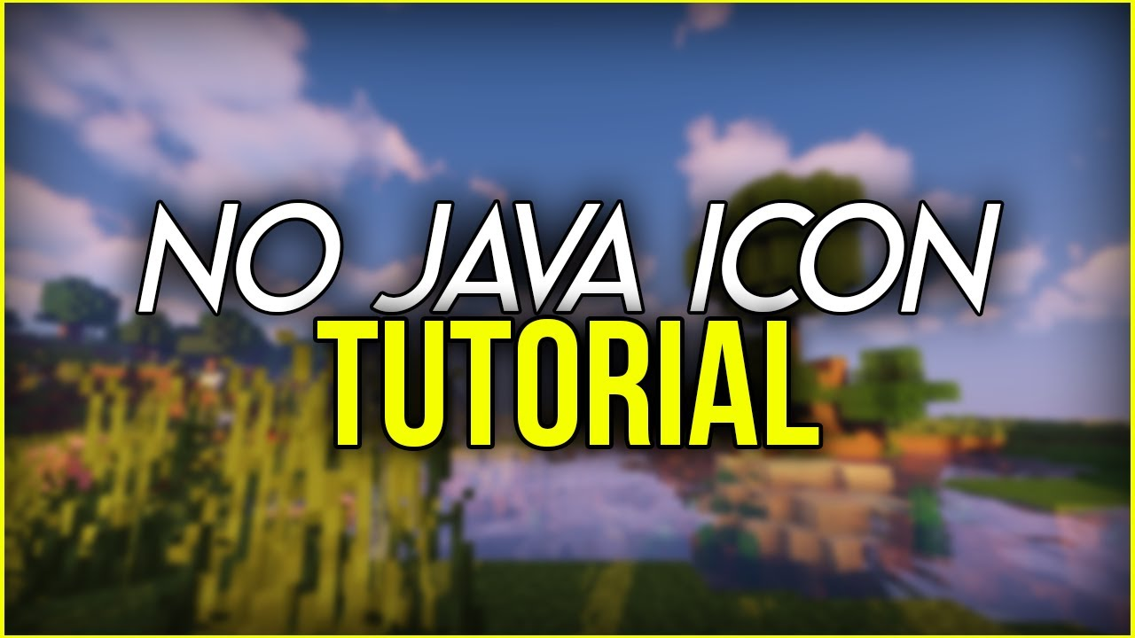 NO JAVA ICON FIX FOR MINECRAFT MODS   Host your Website