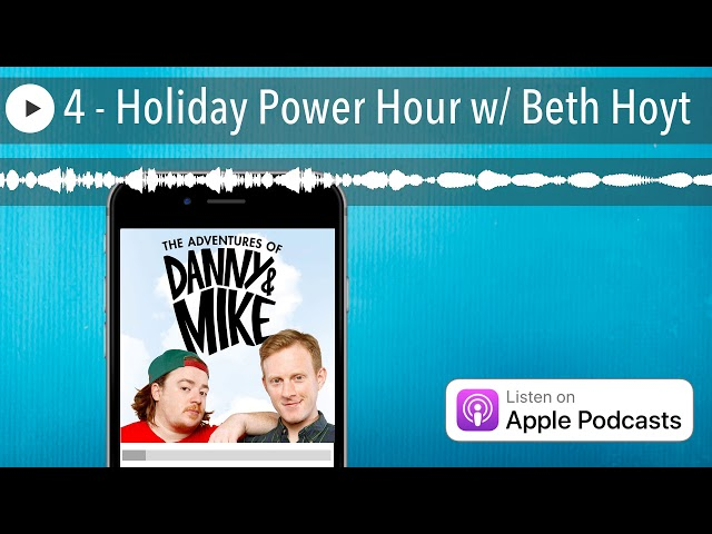 4 - Holiday Power Hour w/ Beth Hoyt
