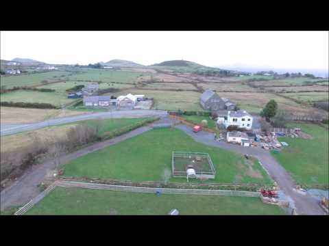 Drone video of the Llŷn Peninsula Mynytho/ Penllech