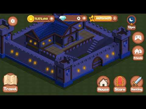Medieval life game. Pro player. Max level. Gameplay