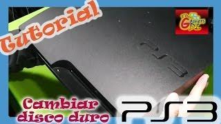 Como cambiarle el  disco duro al  PS3  Slim / Instalación de Firmware