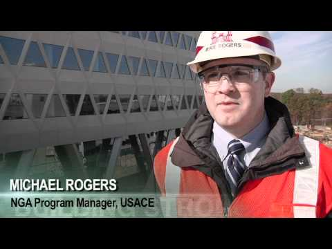 National Geospatial-Intelligence Agency New Campus East project - under construction