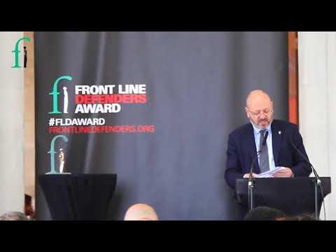 2018 Front Line Defenders Award Ceremony - Kate Gilmore Speech