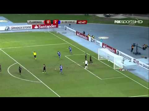 Flamengo vs U. de Chile (0-4) - compacto HD - Copa Sudamericana