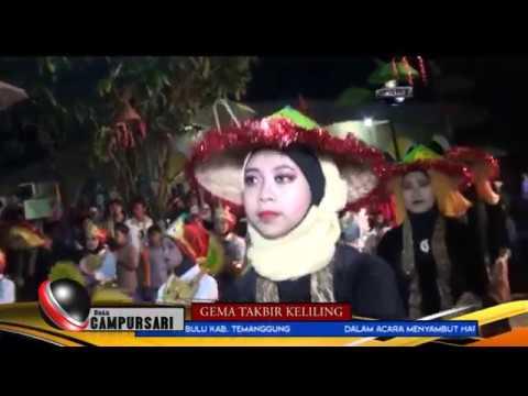 GEMA TAKBIR KELILING CAMPURSARI 2017-DUSUN GREGESAN