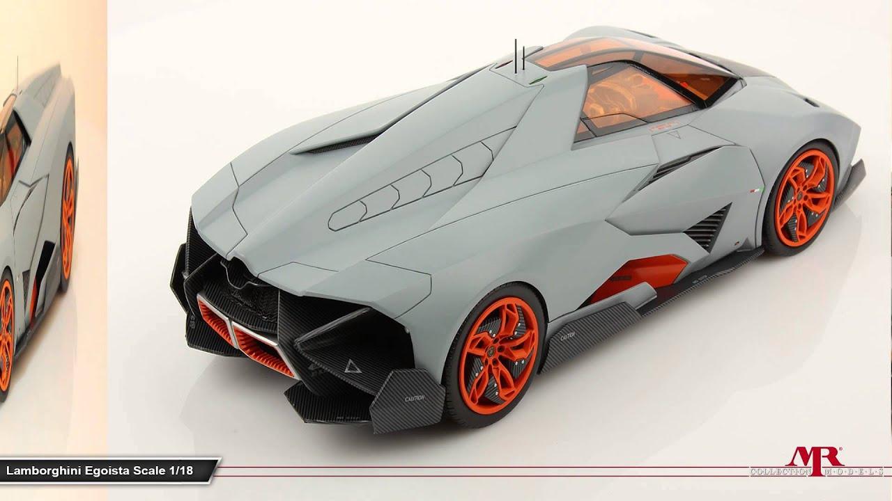 Mr Collection Models Lamborghini Egoista 1 18 Youtube