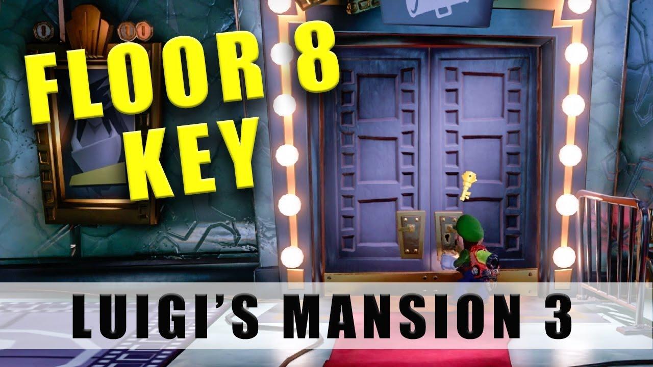 Luigi's Mansion 3 Floor 8 key How to