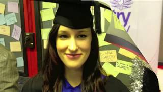 Kirsty Elwell, graduation at coventry university