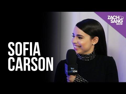 Sofia Carson I Backstage at the AMAs