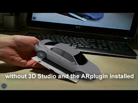 ARmedia Plugin for Autodesk™ 3dsMax™ - Exporter and Player (Augmented Reality)