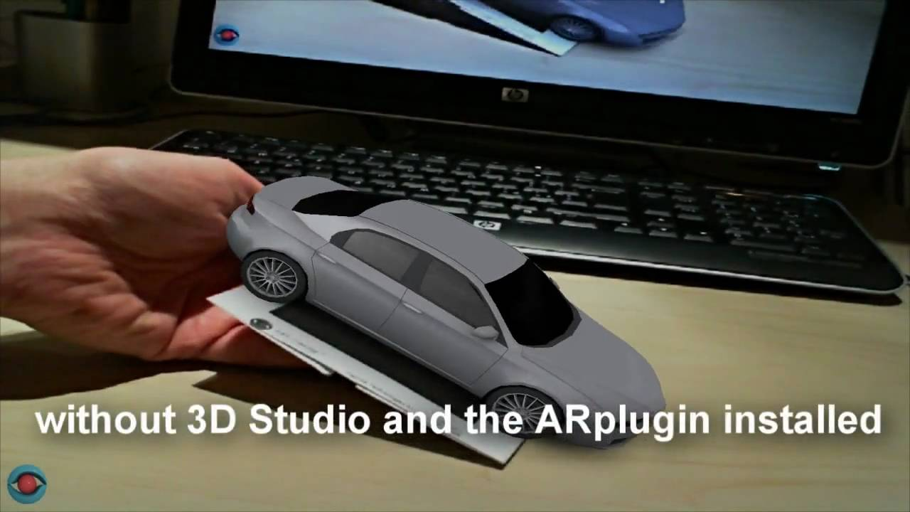 augmented reality 3ds max