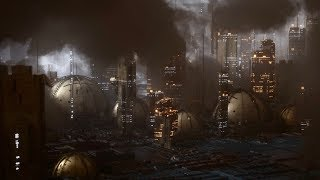 Cinema 4D Tutorial - إنشاء مدينة مستقبلية باستخدام اوكتان مبعثر و Volumetrics
