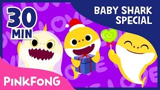 Baby Shark Compilation | Holiday Sharks and more | Animal Songs | Pinkfong Songs for Children thumbnail
