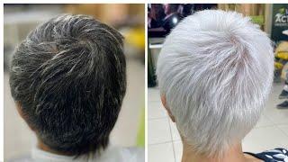 Из черного в блонд за 1 осветление без порошка и тонирования From black to blond in one lightening