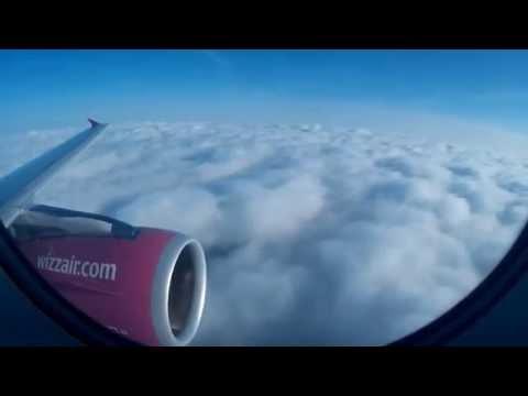 London Luton to Košice Wizzair Flight