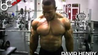 David Henry  Cross Body Hammer Curls