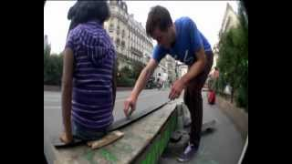 ☺She just WON'T MOVE!!!☺ (a skater's problem)