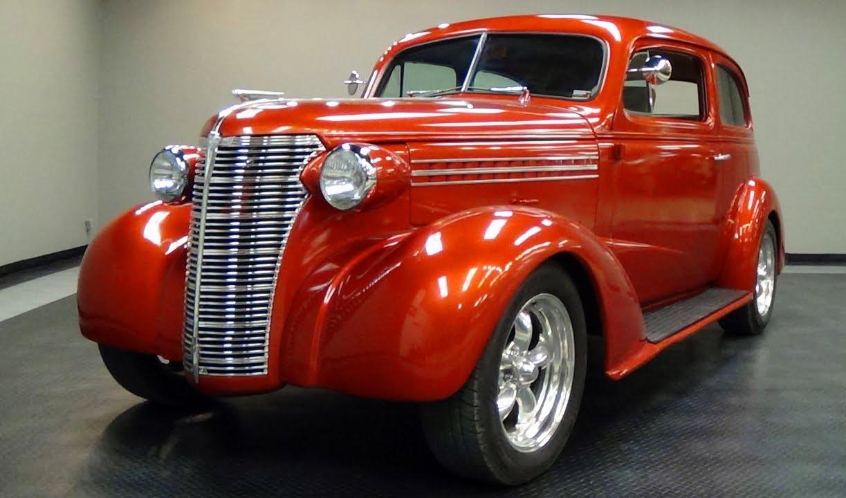 1938 Chevrolet Street Rod 2 Door Sedan Fuel injected V8 - YouTube