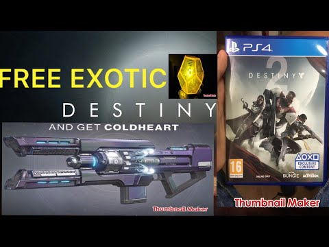 DESTINY 2 UNBOXING !!! Standard Edition (FREE EXOTIC!!??)