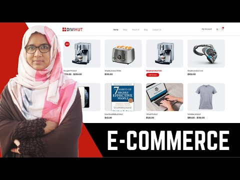 How to make an ecommerce website using Wordpress&Elementor FREE Step by step for beginners