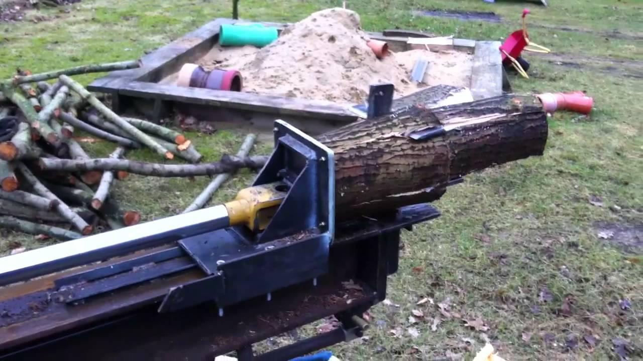 Holzspalter Holzhäuer Hsp20 Bausatz : holzspalter liegend am kubota b6000 youtube ~ Yuntae.com Dekorationen Ideen